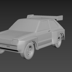 1.jpg Download STL file Toyota Starlet 60 1983 Body For Print • 3D print model, Andrey_Bezrodny