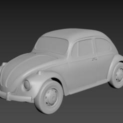 Download STL file Volkswagen Beetle 1967 • Design to 3D print, Andrey_Bezrodny
