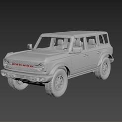 01.jpg Download STL file Ford Bronco 2021 Body For Print • 3D printer model, Andrey_Bezrodny