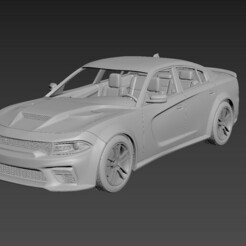 1.jpg Download STL file Dodge Charger SRT 2021  • 3D printing object, Andrey_Bezrodny