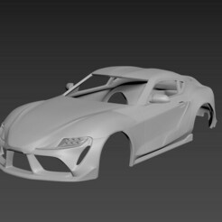 1.jpg Download STL file Toyota Supra 2021  Body For Print • 3D print template, Andrey_Bezrodny