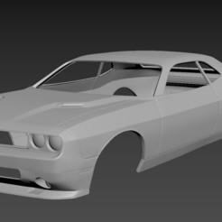 1.jpg Download STL file Dodge Challenger 2008 Body for print • 3D print model, Andrey_Bezrodny