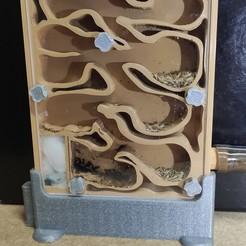 Télécharger fichier STL Nid de fourmis - fourmilière (ants nest) • Modèle pour impression 3D, Lio69