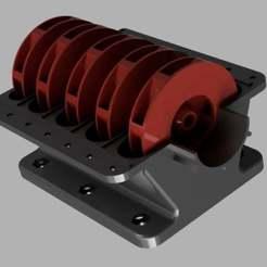 thingmultyiti.jpg Download free STL file Multistage water pump • 3D printer object, LetsPrintYT