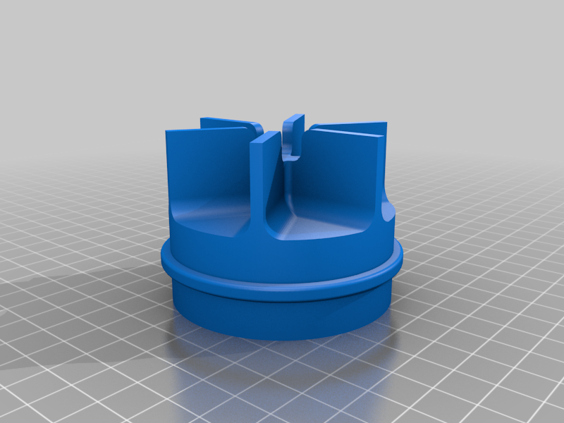 Impeller.png Download free STL file Water Pump for Pressure Washer (Experiment) • 3D printable template, LetsPrintYT