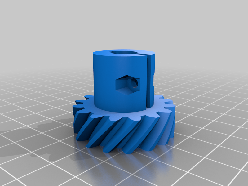 Coupler.png Download free STL file 4 ways to attach gears to the shaft (example gears) • Object to 3D print, LetsPrintYT