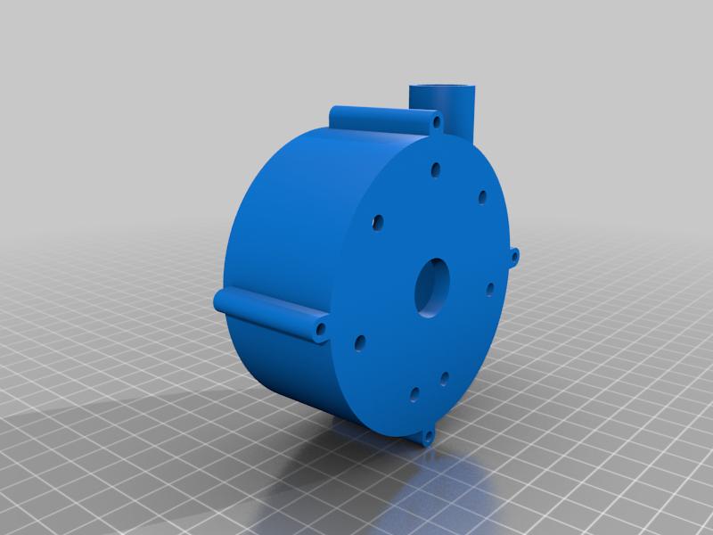 Body.png Télécharger fichier STL gratuit Pompe à eau pour boîte de vitesses V8 • Objet pour imprimante 3D, LetsPrintYT