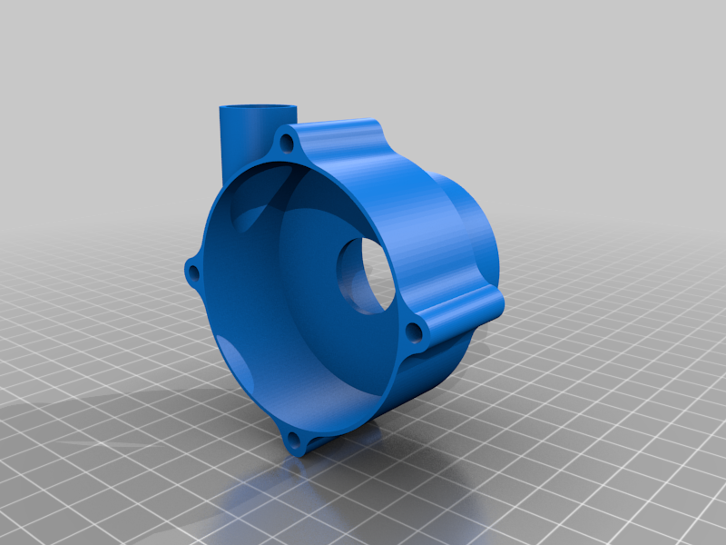 Body2.png Download free STL file Water Pump With 4 Different Turbines - TESTING AND BUILDING VIDEO • 3D printable model, LetsPrintYT