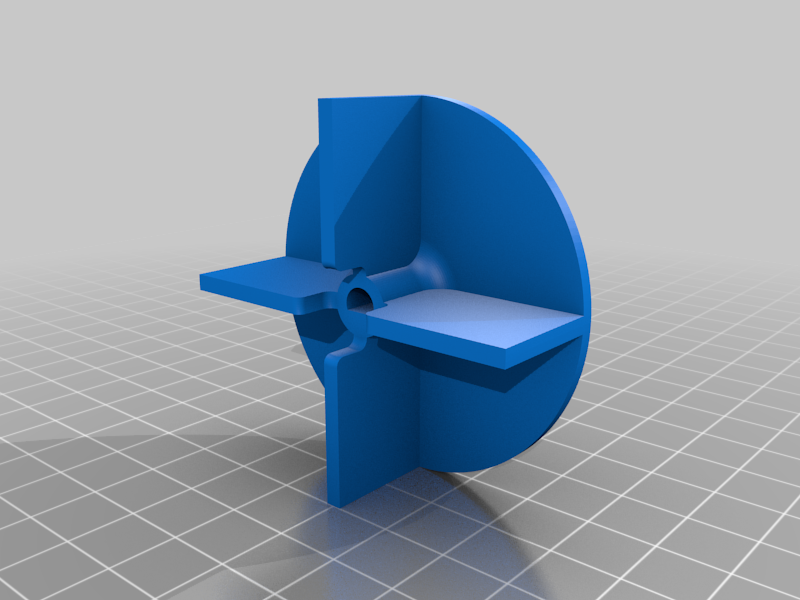 Turbine2.png Download free STL file Water Pump With 4 Different Turbines - TESTING AND BUILDING VIDEO • 3D printable model, LetsPrintYT