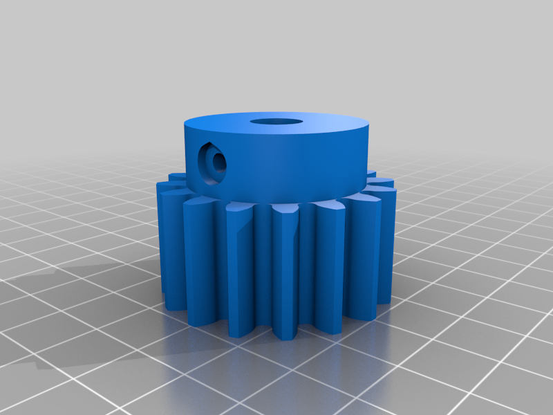 boltthrought.png Download free STL file 4 ways to attach gears to the shaft (example gears) • Object to 3D print, LetsPrintYT