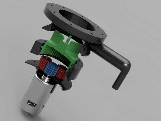 thingverse.jpg Download free STL file Water Pump for Pressure Washer (Experiment) • 3D printable template, LetsPrintYT