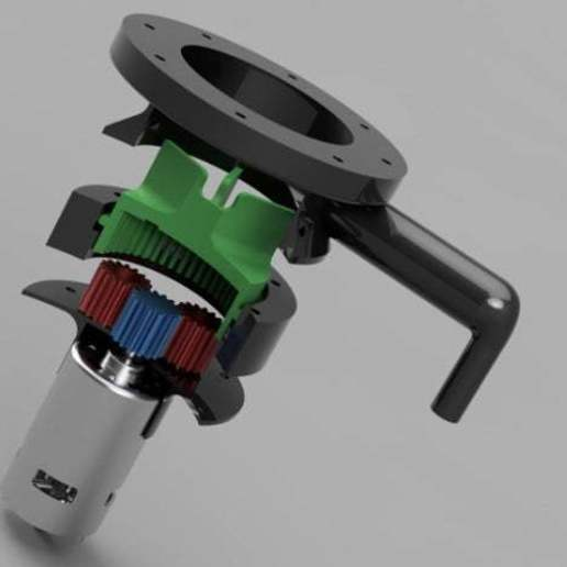 Download free STL Water Pump for Pressure Washer (Experiment), LetsPrintYT