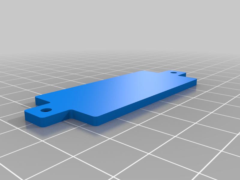Battery_Cover.png Télécharger fichier STL gratuit Enseigne de nom - Décorez la lampe LED - Superbe idée de cadeau • Objet à imprimer en 3D, LetsPrintYT