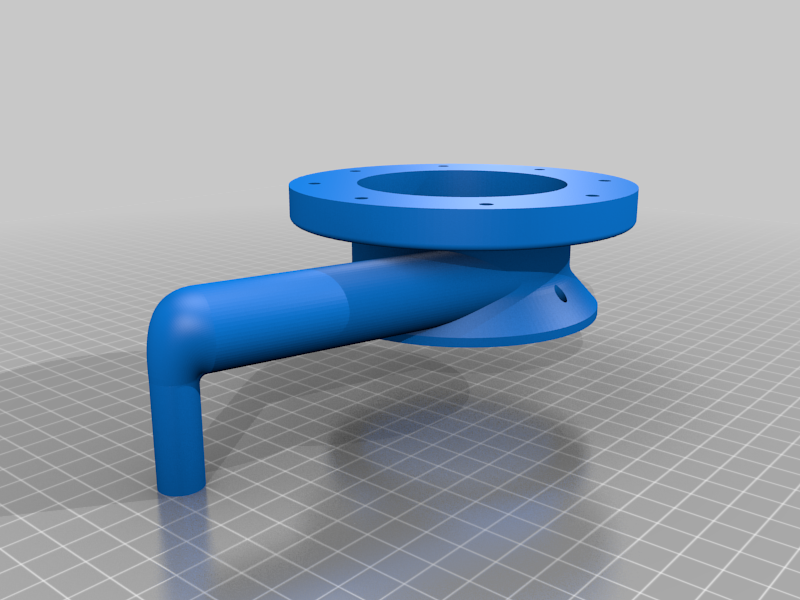 Body1.png Download free STL file Water Pump for Pressure Washer (Experiment) • 3D printable template, LetsPrintYT