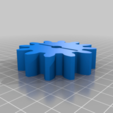 steel.png Download free STL file 4 ways to attach gears to the shaft (example gears) • Object to 3D print, LetsPrintYT