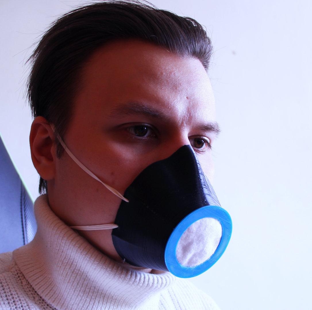 cultsh.jpg Télécharger fichier STL gratuit Masque facial avec filtre interchangeable - COVID19 • Plan pour imprimante 3D, LetsPrintYT