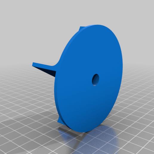 Impeller.png Télécharger fichier STL gratuit Pompe à eau pour boîte de vitesses V8 • Objet pour imprimante 3D, LetsPrintYT