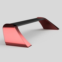 Download STL file Car spoiler for any sedan (real life size) • 3D printer design, LetsPrintYT