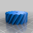 halfcircle.png Download free STL file 4 ways to attach gears to the shaft (example gears) • Object to 3D print, LetsPrintYT