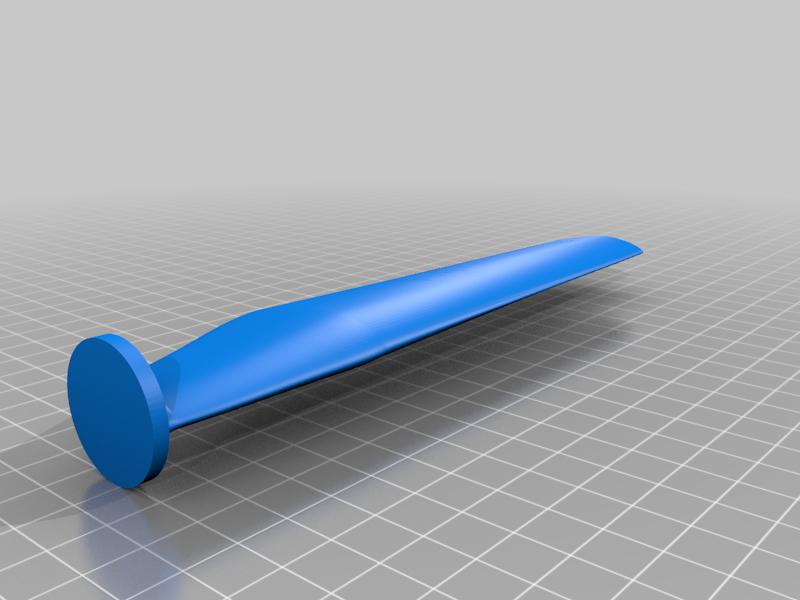 bottom.png Download free STL file Wind turbine for 775 engine • 3D printer template, LetsPrintYT
