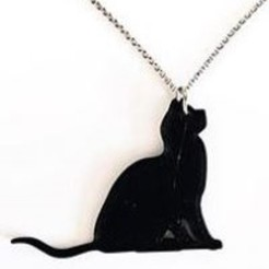Download 3D model Cat necklace, 3dukkani