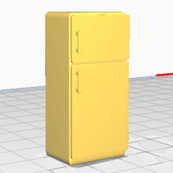 Download free STL file Fridge, alexpocholo