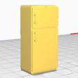 Télécharger objet 3D Réfrigérateur, alexpocholo
