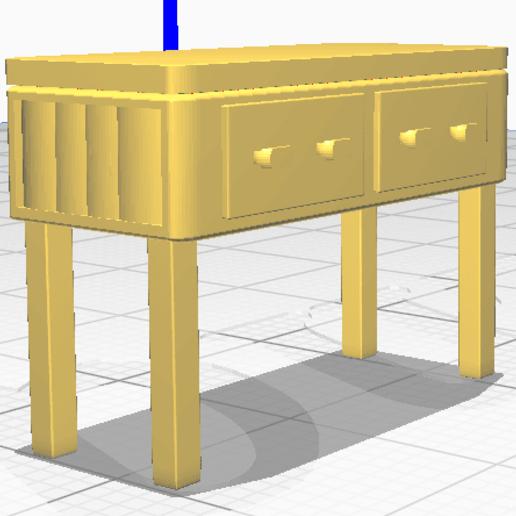 Télécharger fichier STL gratuit Meubles miniatures • Objet imprimable en 3D, alexpocholo