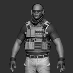 1.jpg Download STL file Soldier • 3D printing model, cordalive