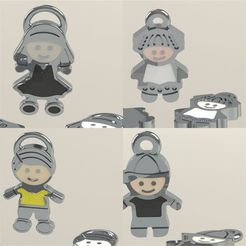 FAMILIA.jpg Download STL file FAMILY MESSAGE • Object to 3D print, DIAGUILAR9084