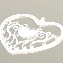 DIJE CORAZON.JPG Télécharger fichier STL LE CŒUR QUI PARLE • Design pour imprimante 3D, DIAGUILAR9084