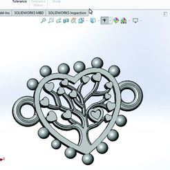Download STL file HEART TREE OF LIFE, dimauricioarcos