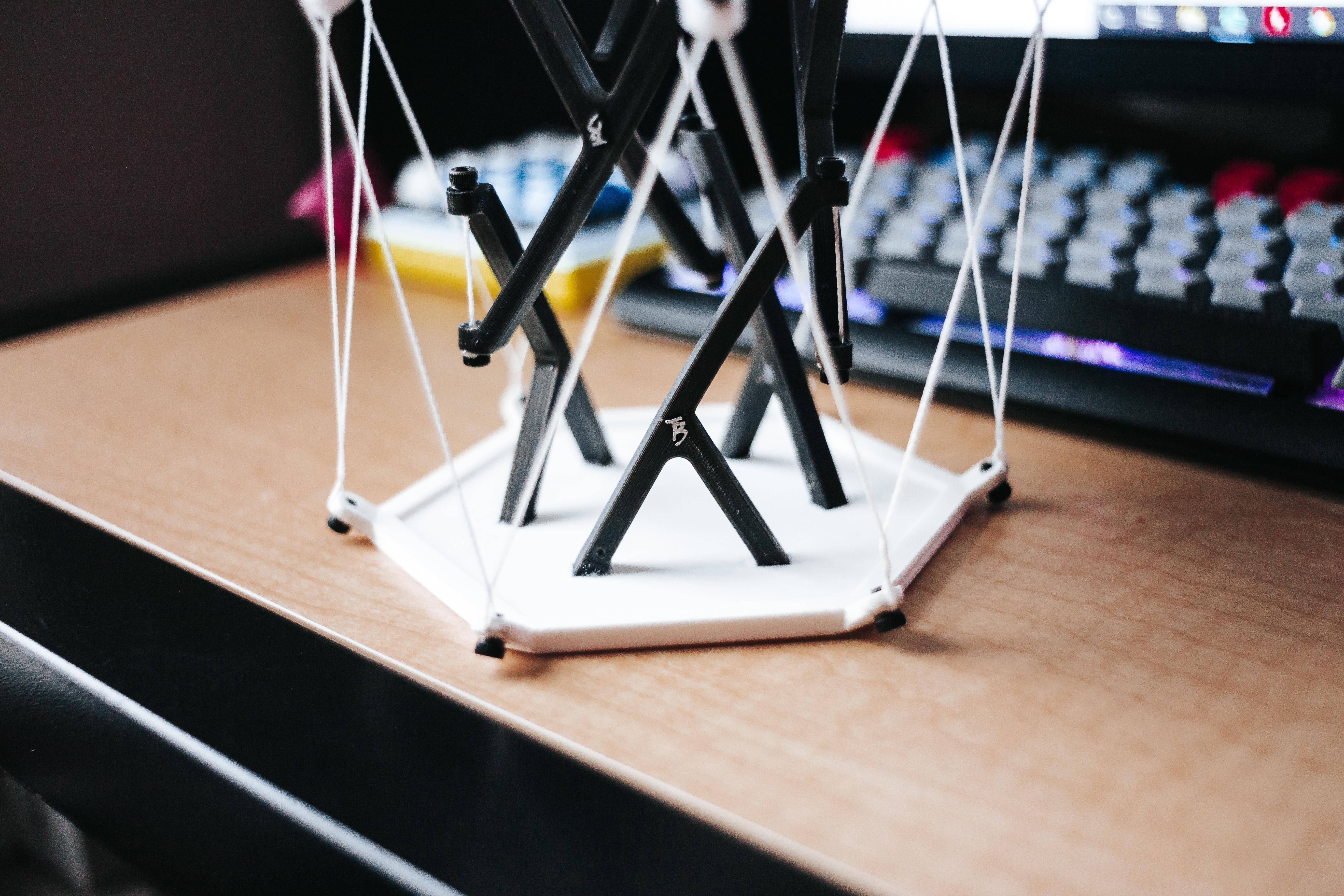 IMG_8775.jpg Download free STL file Tensegrity Table High Strength • 3D print design, tylerbrunstein