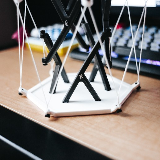 Download free STL Tensegrity Table High Strength, tylerbrunstein