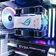 Download free 3D printer templates cooler master Evo 212 heatsink cover, tylerbrunstein