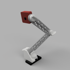 Pi_Camera_Mount.PNG Download free STL file Pi Camera Mount - Universal - Snap fit • 3D printable template, LittleHobbyShop