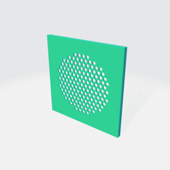 Cover screenshot 2.png Download free STL file Ikea Frekvens Speaker Cover • 3D printer object, hexangle_design