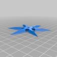 Download free STL file Ninja Star prop • Object to 3D print, 3DPrint2