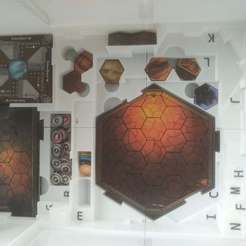 pic3.jpg Download STL file Insert for Gloomhaven map tiles • 3D printing design, aivin