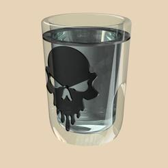 Glass.jpg Download OBJ file Shot glass • Model to 3D print, Roebuck