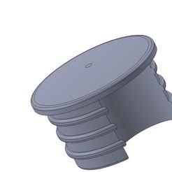 Télécharger fichier STL gratuit Bouchon pour chaise de jardin D=11,5mm, rroth2