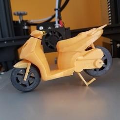 2.jpg Download STL file Aprilia Sportcity Scooter Moto 125 200 • 3D printer template, MrCresc