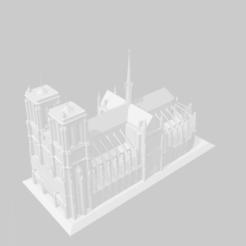 Télécharger fichier impression 3D gratuit Notre Dame de Paris, gazdatony