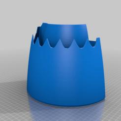 Imprimir en 3D gratis Invertir las capuchas con chevrones, RTWILEYRC