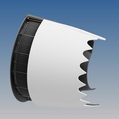 Descargar archivo STL INVERSOR DE EMPUJE FUNCIONAL - TRENT 900 • Plan de la impresora 3D, RTWILEYRC