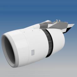 Download 3D printing models FUNCTIONAL THRUST REVERSER - TRENT 900 , RTWILEYRC
