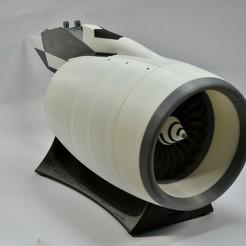 Descargar archivo STL gratis Nacela de motor de alto bypass • Plan de la impresora 3D, RTWILEYRC