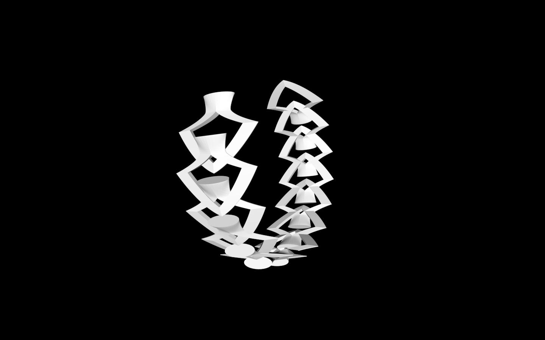 Capture d'écran bracelet 4..png Download free STL file Bracelet • 3D printing model, gialerital