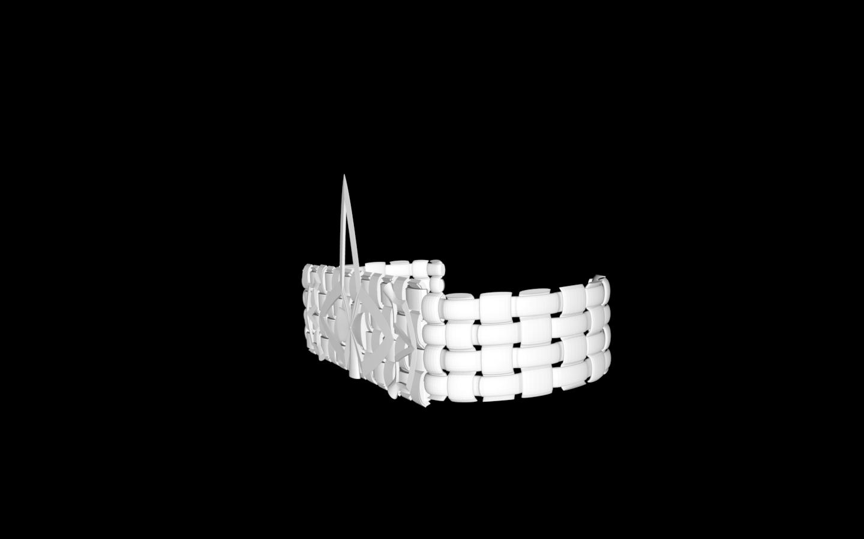 Capture d'écran 2020-05-26 à 19.23.45.png Download free STL file leather-look bracelet • Design to 3D print, gialerital