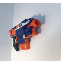 IMG_0717.png Download free STL file Wall nerve clip • 3D printing template, gialerital
